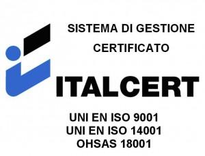 Logo ITALCERT 9001 14001 18001
